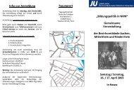 Infos zur Anmeldung - CDU im Rhein-Kreis Neuss