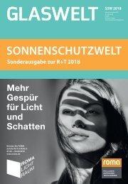 SONNENSCHUTZWELT 2018 deutsch