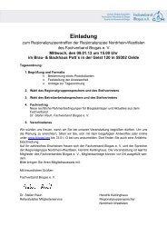 Einladung - Fachverband Biogas e.V.