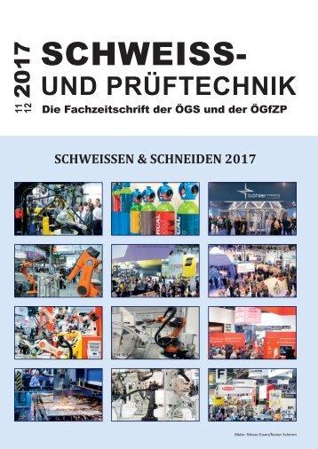 Fachzeitschrift ÖGS 11/12 2017