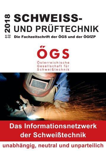 Fachzeitschrift ÖGS 01/02 2018