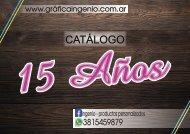 Catalogo 15 Años - Grafica Ingenio