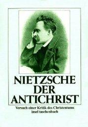 Nietzsche -Der Antichrist