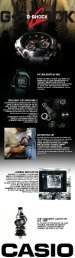 Casio G-Shock watches Infographic