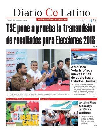 Edición 19 de febrero de 2018