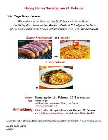 2018-2-24 Einladung-Bratwurst u. Rösti