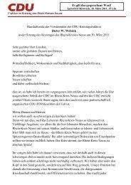 Haushaltsrede 2011 Endfassung 300311 dwel - CDU im Rhein ...