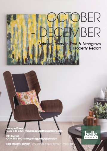 Monique Dower Property Report Oct-Dec 2017