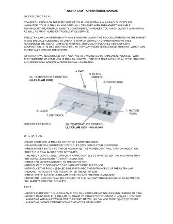Akiles UltraLam 250B & 250P Pouch Laminating Machine - PrintFinish.com