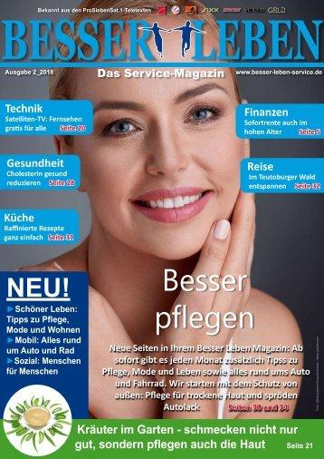 Besser Leben Service Magazin Februar_2018