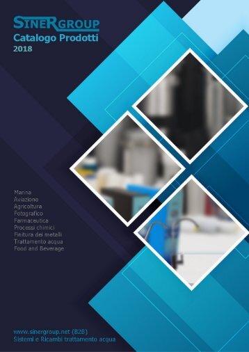 19/02/2018 Sinergroup - Catalogo Cartucce Ricaricabili contenitori vuoti trasparenti polifosfato resina cationica anionica calcite