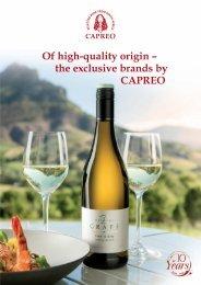 CAPREO exclusive brand