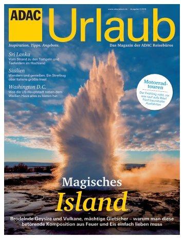 ADAC Urlaub März-Ausgabe 2018_Nordrhein