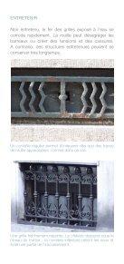 Les grilles des baies de cave - Comment les préserver ? - Page 3