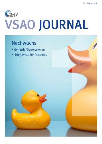 VSAO JOURNAL Nr. 1 - Februar 2018