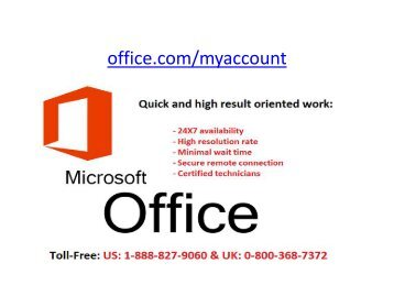 office myauccount support