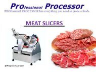 Meat Slicer for Home or Commercial Use
