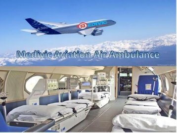 Book Low Fare Medivic Aviation Air Ambulance Service in Kolkata