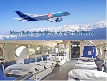 Book Low Fare Medivic Aviation Air Ambulance Service in Kolkata