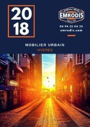 EMRODIS Mobilier urbain Catalogue 2018