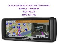 How Do I Contact Magellan GPS Support Number Australia 1800-215-732