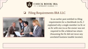 Real Estate IRA LLC | Check Book IRA LLC