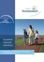 Klinikprospekt Klinik Nordseedeich
