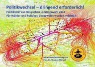 Politikbrief zur Hessischen Landtagswahl 2018
