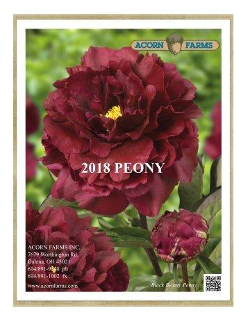 2018 Peony - Acorn Farms