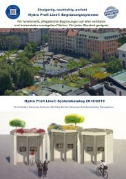 Hydro Profi Line Systemkatalog 2018/2019