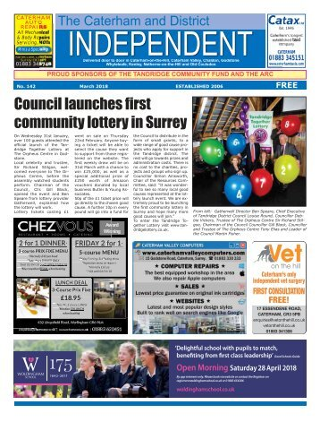 Caterham Independent March 2018 Edition