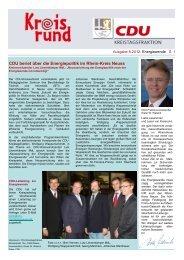Kreisrund 8 2012 Entwurf - CDU im Rhein-Kreis Neuss