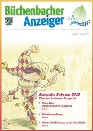 Februar 2018 - Büchenbacher Anzeiger