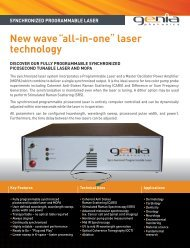 New wave all-in-one laser technology - Laser 2000 GmbH