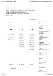 Yumpu.com - Account - Profile - Pricing