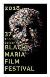 2018 Black Maria Film Festival Program