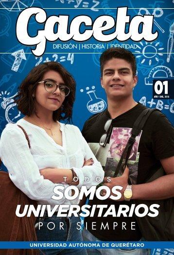 Gaceta UAQ 01 | Enero 2018