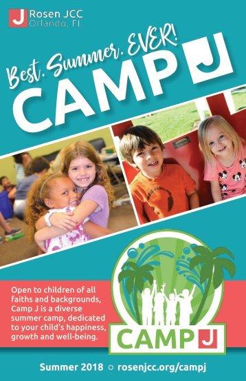 CampJ 2018 Brochure