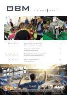 2018-1 OEBM Der Österreichische Baustoffmarkt - ARDEX wir feiern 50 Jahre beste Verbindungen - Page 3