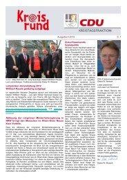 Kreisrund 4 2012 - CDU im Rhein-Kreis Neuss