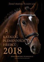Katalog plemenných hřebců 2018