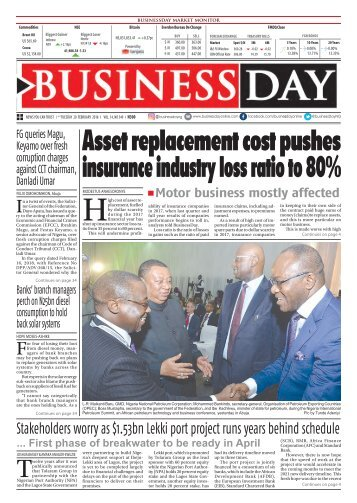 BusinessDay 20 Feb 2018