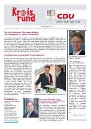 Kreisrund 6 2012 - CDU im Rhein-Kreis Neuss