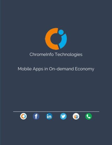 Why are On-Demand Mobile Apps taking