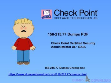 Download Checkpoint 156-215.77 Dumps - Free Dumps Collection