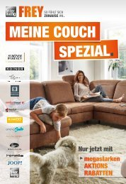 Interliving FREY - Meine Couch Spezial