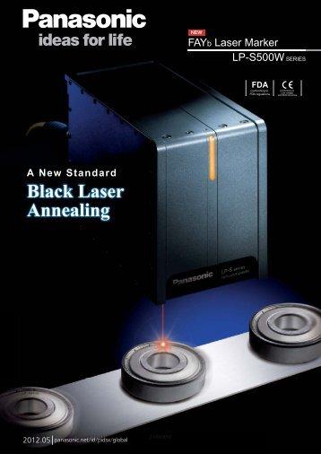 Black Laser Annealing - Panasonic Electric Works Europe AG
