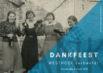 Dankreceptie 'Westhoek verbeeldt' '18
