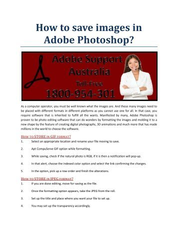 How to save images in Adobe Photoshop?