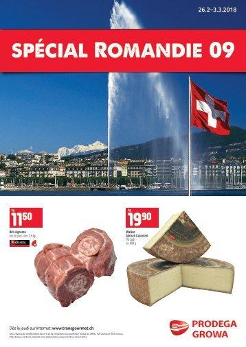 Spécial Romandie 09
